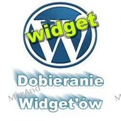 Widgety funkcje widgetów i projektowanie paska bocznego bloga VWP07 Internet