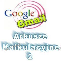 Arkusz kalkulacyjny Google dla celów marketingowych w GVO VGO08 Oprogramowanie