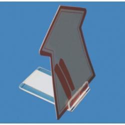 uchwyt podstawka kartke plytke folder reklame gr 2mm dl 60mm L 156p