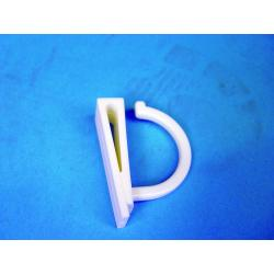haczyk plastik wsuwany na krawedz N33