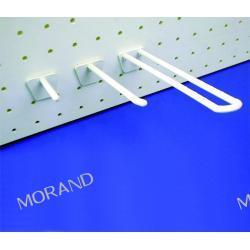 hak ekspozycyjny podwojny plastik karbowany 150mm G7