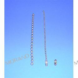 lancuszek kulkowy perlowy fi 2,4mm 15cm z lacznikiem A115