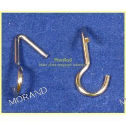 haczyk przyssawki drut metal 26mm