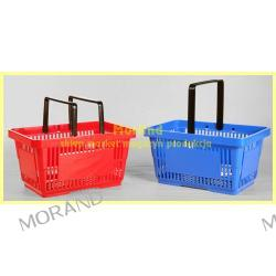 plastik koszyk sklep market z raczka 022