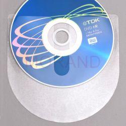 samoprzylepne kieszenie na cd dvd bez klapki okrag 100szt