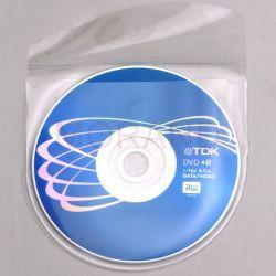 samoprzylepne kieszenie na cd dvd z klapk okrag 100szt