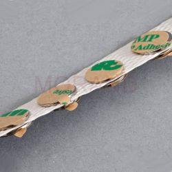 kolka magnetyczne neodymowe samoprzylepna fi 10mm gr 0,6mm 100szt