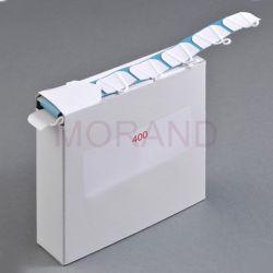 haczyki samoprzylepne do plakatu 17x28 400szt 1 rolka udzwig 500g