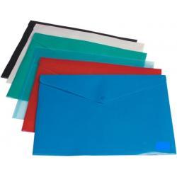 teczka kopertowa, koperta foliowa a4 na zatrzask