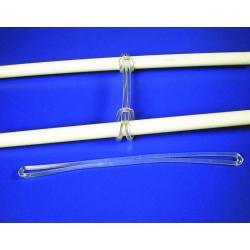 petelki zaczepy laczace bezb plastik 150mm 100szt