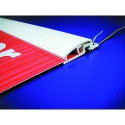 plastik zatrzask listwa plakat szer 18mm dlug 20-300 1szt