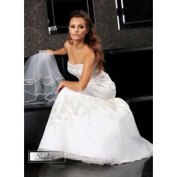 Sofia - suknia ślubna CATHERINE z kolekcji Silver