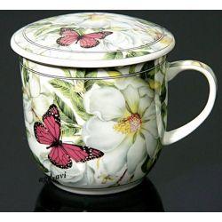 Kubek do ziół, herbaty z sitkiem HS-521m