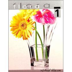 Wazon szklany 20 szkło przezroczyste Flora Parowary