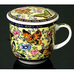 Kubek do ziół, herbaty z sitkiem HS - 33.3
