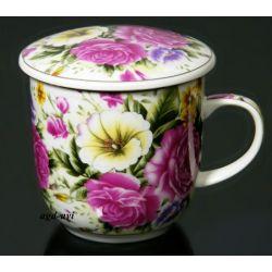 Kubek do ziół, herbaty z sitkiem HS - 542