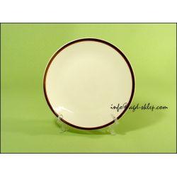 TALERZ DESEROWY 19cm porcelana  Chodzież