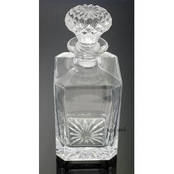 Karafka ze szklanym korkiem 1L kryształ