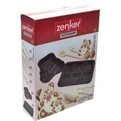Formy do pieczenia ciasteczek zestaw 7cz. Zenker