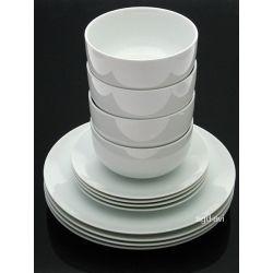 Serwis obiadowy Biała Porcelana F&F