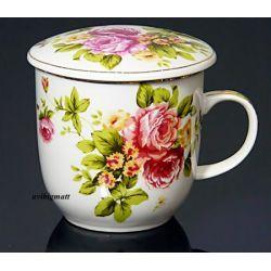 Kubek do ziół, herbaty z sitkiem HS - 450