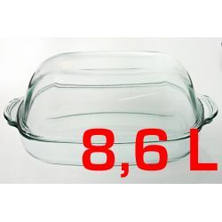 Naczynie żaroodporne owalne 8,6L z pokrywą Naczynia żaroodporne