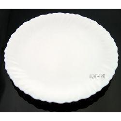 Talerz płytki obiadowy 25cm Luminarc Feston Kubki