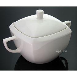Waza do zupy 4L kwadrat porcelana