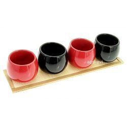 Zestaw kubeczków do herbaty Sushi 5cz.