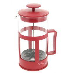 Dzbanek zaparzacz tłokowy do herbaty, ziół czerw 1L