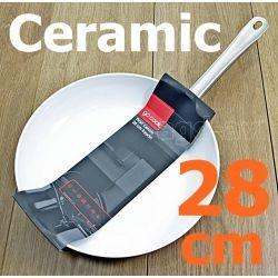 Patelnia ceramiczna GoCook Profi 28cm indukcja Kieliszki i pucharki