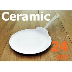 Patelnia ceramiczna do naleśników 24cm indukcja  Parowary