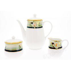 Zestaw do herbaty kawy dzbanek cukiernica mlecznik
