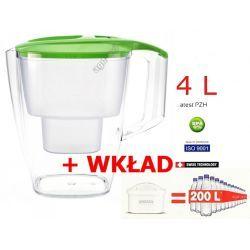 Dzbanek filtrujący filtr Dafi 4L wkład gratis zielony Kieliszki i pucharki