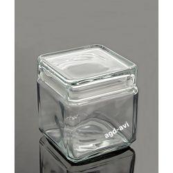 Słoik hermetyczny kwadrat 0,85L szklany