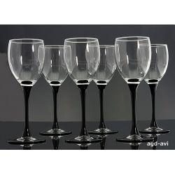 Kieliszki do wina białego Domino Luminarc 190ml