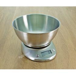Waga kuchenna 5kg z misą nierdzewna elektroniczna Wagi i miarki kuchenne