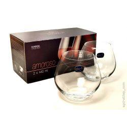 Szklanki do napojów drinków Bohemia Crystal Amoroso 440ML