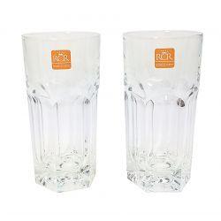 Szklanki Long Drink 2x370ml LUXION Crystal Italy