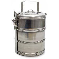 Trojak pojemnik obiadowy 3x1,3L nierdzewny Salaterki i półmiski