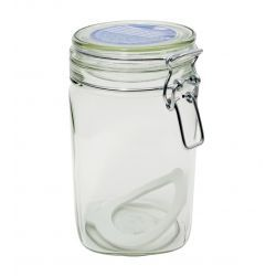 Pojemnik kuchenny szklany słoik 1000ml z klamerką Pojemniki kuchenne
