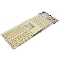 Zestaw pałeczek 24szt. pałeczki bambusowe do sushi Kieliszki i pucharki