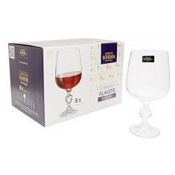 Bohemia Crystal Kieliszki wina czerw 340ml Klaudie Czajniki