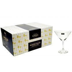 Kieliszki Martini Bohemia Crystal 4el 280ml