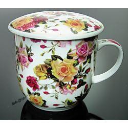 Kubek do ziół, herbaty z sitkiem PAW  HS-137.1