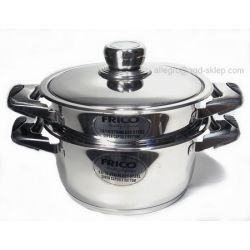 Garnek do gotowania na parze 3L FRICO Przybory kuchenne