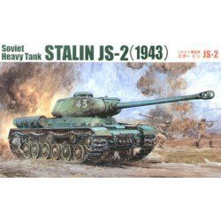 1943 Stalin IS-2 Soviet Heavy Tank
