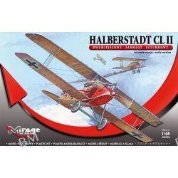 HALBERSTADT CL II Samolot Szturmowy Dwumiejscowy Wczesna Wersja