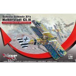 Schusta/Schlasta 27b Halberstadt CL.II Dwumiejscowy samolot szturmowy środkowe serie produkcyjne