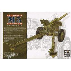 M5 3 inch Gun on M1 Carriage